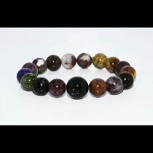 Jewelry - *free w/ purchase NWOT Natural Gemstone Bracelet